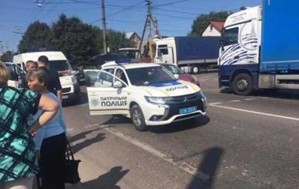 У Львові копи збили двох жінок