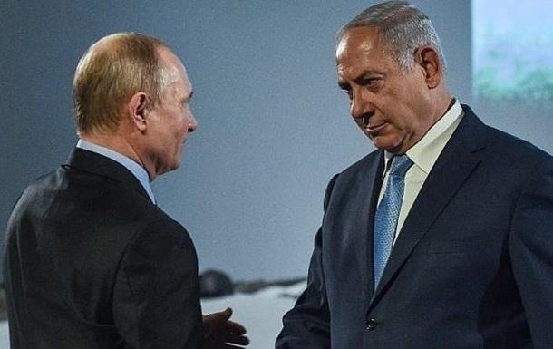 Нетаньяху обговорив з Путіним свій візит до Зеленського