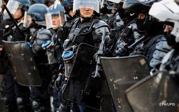 Во Франции протестуют недовольные саммитом G7