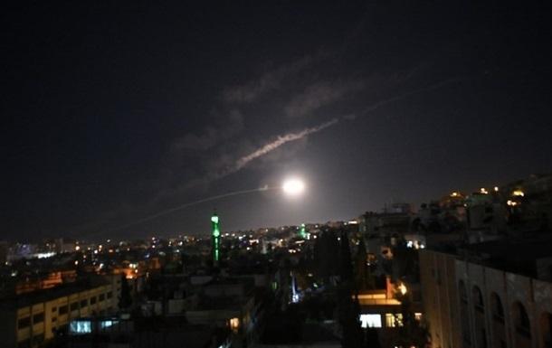 Армия Израиля нанесла удар поСирии