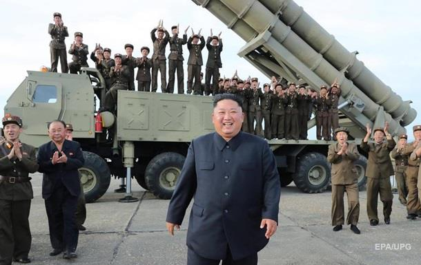 КНДР заявила про пуски нової ракетної установки