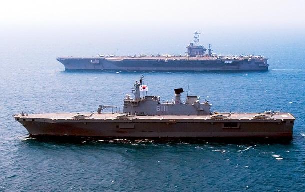 Південна Корея почала навчання біля спірних з Японією островів