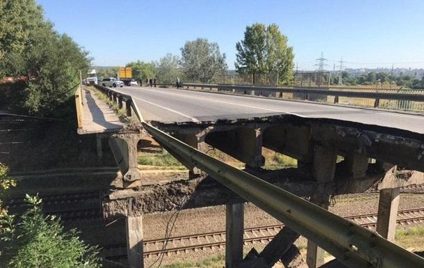 Укравтодор пояснив, чому впав міст у Харкові