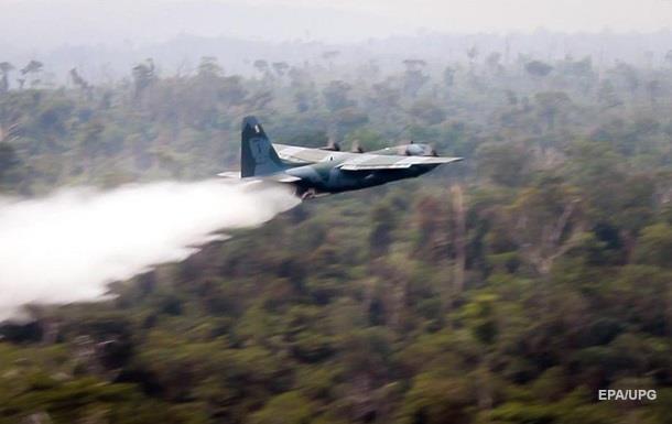 Бразилія задіяла армію для гасіння пожеж в Амазонії