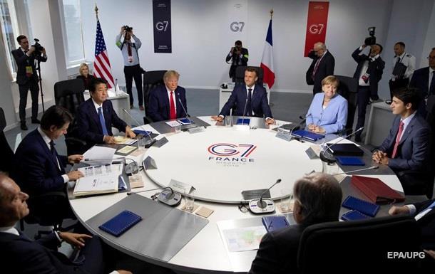 Лидеры G7 получили в подарок часы из пластика, собранного в океанах