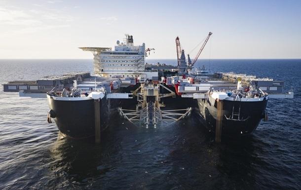 Начался финальный этап укладки Nord Stream-2