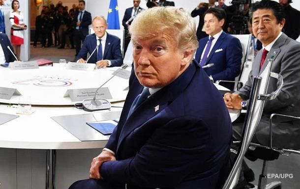 Трамп рассказал о дискуссии по России на G7