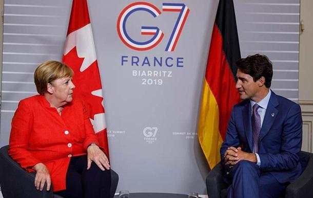 Трюдо і Меркель чекають від України реформ