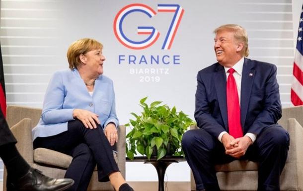 Меркель за переговоры между Зеленским и Путиным