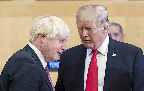 Трамп: Я чекав прем єрства Джонсона кілька років