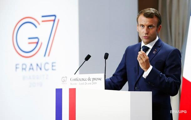 Макрон: РФ можна запросити в G7 як гостя