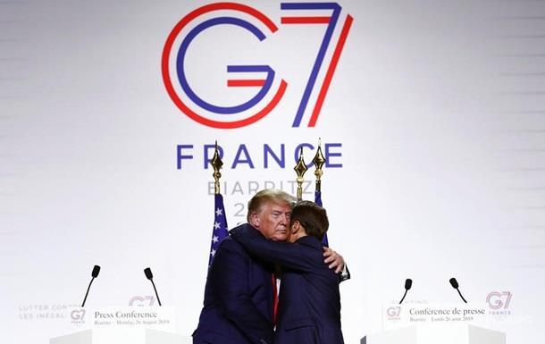 Лидеры G7 утвердили итоговое заявление саммита
