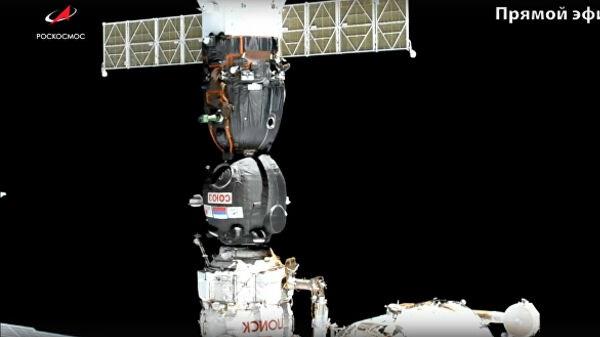 """Попытка №2: """"Союз МС-14"""" с роботом на борту успешно пристыковался к МКС"""