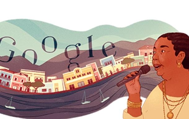 Google посвятил дудл легендарной певице из Кабо-Верде