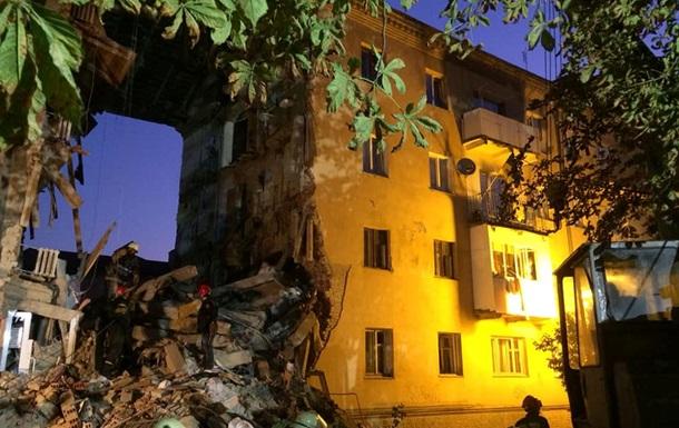 Взрыв и обрушение дома в Дрогобыче: фото