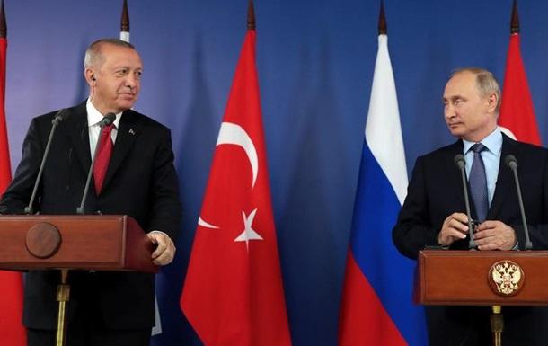 Путін та Ердоган прагнуть  нормалізувати  ситуацію в Ідлібі