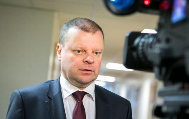 У премьер-министра Литвы обнаружили рак