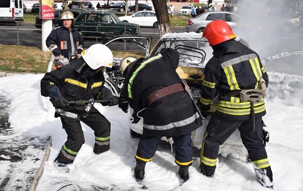 В Николаеве потушили пожар на автовокзале