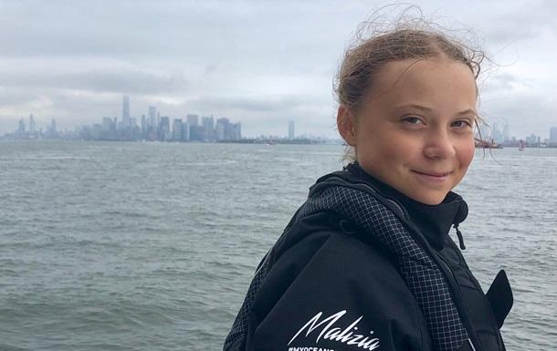 Шведская школьница-экоактивистка прибыла в США на саммит ООН