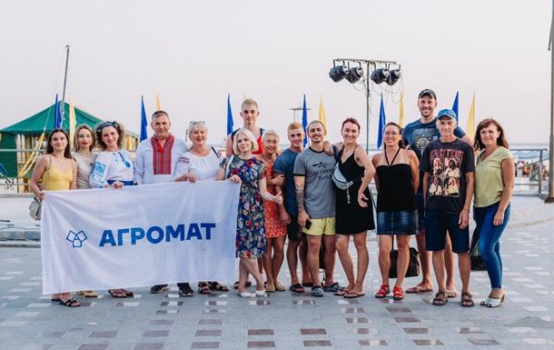 АГРОМАТ отметил День рожденья заплывом на 6,5 км