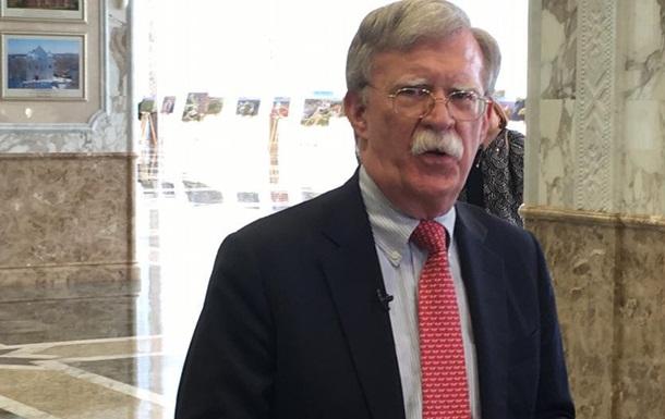 Болтон розповів про долю військової допомоги США для України