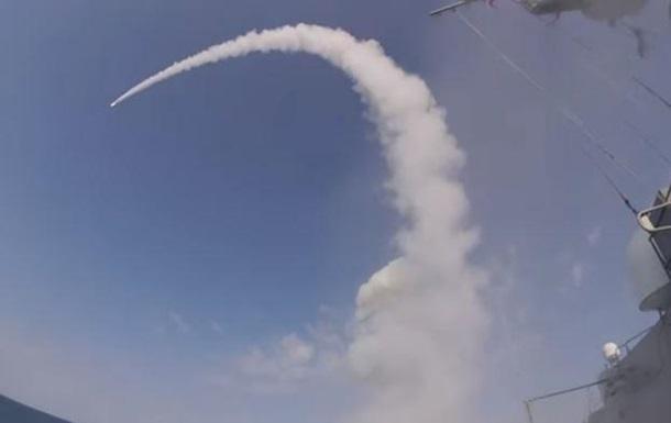 РФ вперше провела запуск крилатої ракети Калібр в Чорному морі