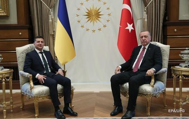 Ердоган розповів Зеленському про свою поїздку в РФ