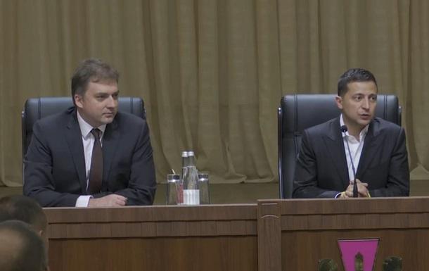 Зеленський представив нового голову Міноборони
