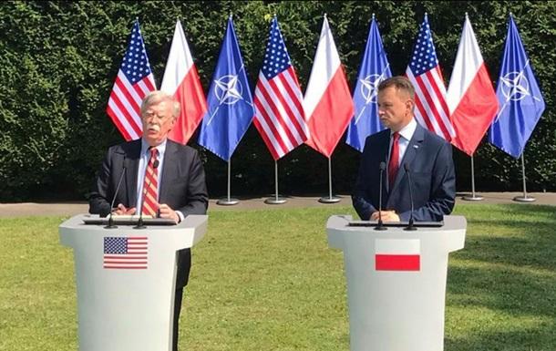 Польща визначила місця дислокації нових підрозділів США