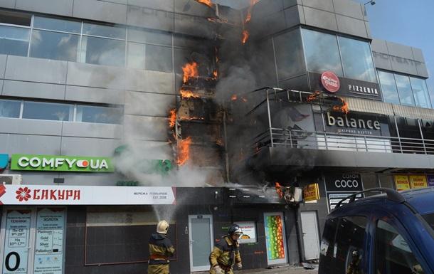 В Украине горел еще один  Токио
