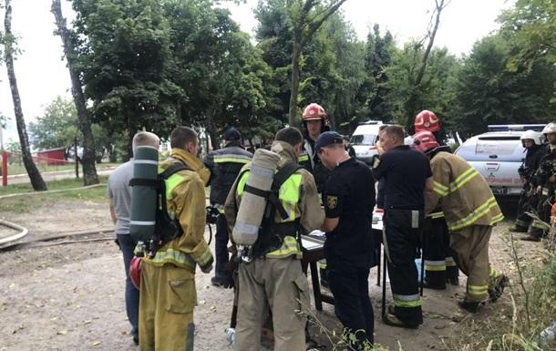 Поліція відкрила справу за фактом пожежі піді Львовом