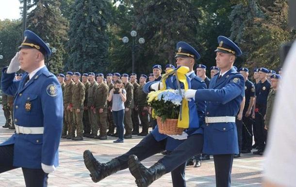 У Києві вшанували пам ять загиблих під Радою нацгвардійців