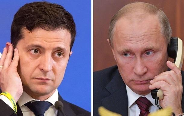 Зеленський розповів про дві розмови з Путіним