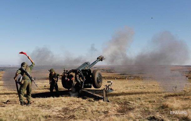 Сутки на Донбассе: Девять обстрелов