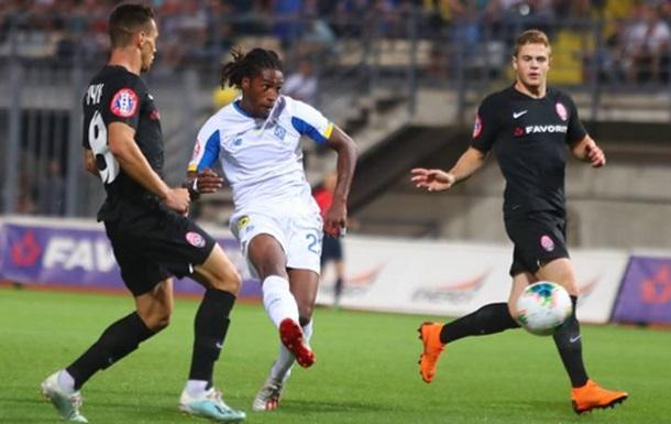 Динамо втратило перемогу над Зорею, ведучи 2:0 в матчі