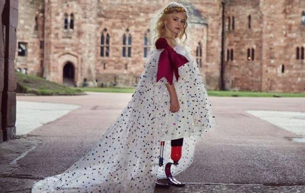 9-летняя девочка без ног выйдет на подиум Недели моды в Нью-Йорке