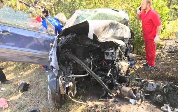 В Кривом Роге в ДТП погибли три человека