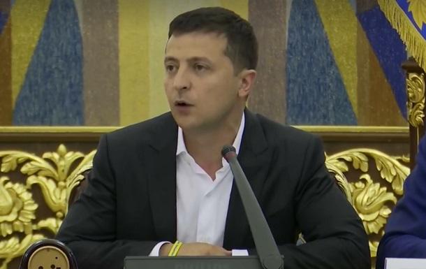 Зеленський анонсував  гарячі реформи