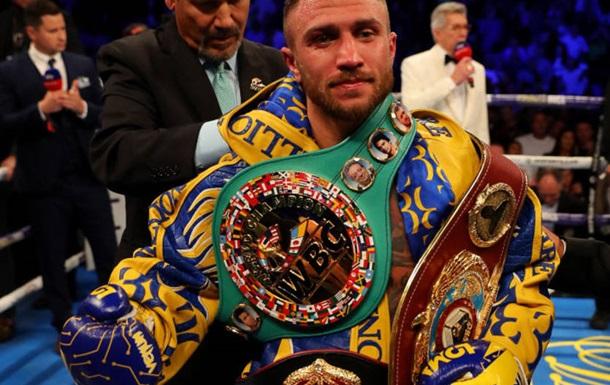 Ломаченко стал лучшим боксером августа по версии WBA