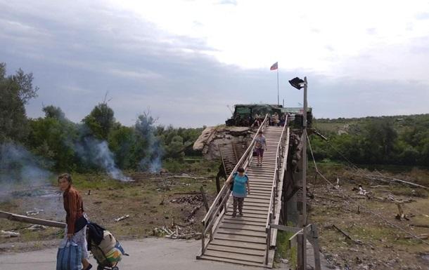 В  ЛНР  заявили о демонтаже укреплений у моста в Станице Луганской