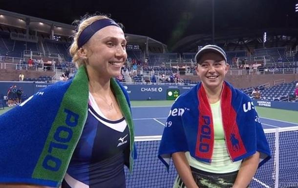 Кіченок стала першою українкою, яка вийшла в 1/4 фіналу парного розряду US Open