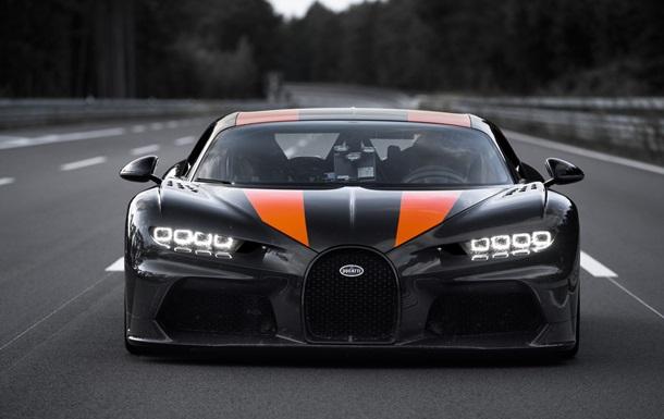 На Bugatti Chiron поставили рекорд скорости