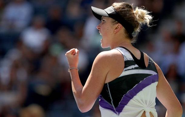 Свитолина вышла в полуфинал US Open