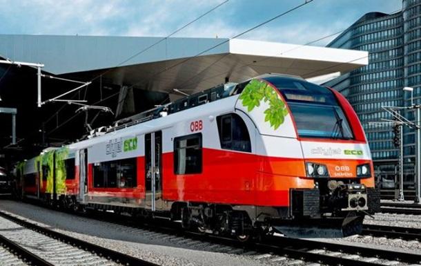 В Австрії пройшов випробування перший гібридний потяг