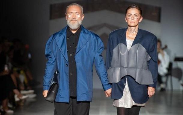 На Ukrainian Fashion Week прошел показ с моделями 55+