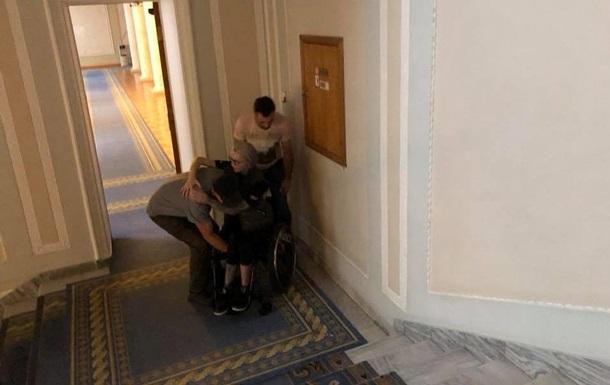 У Верховної Ради немає грошей на інвалідів