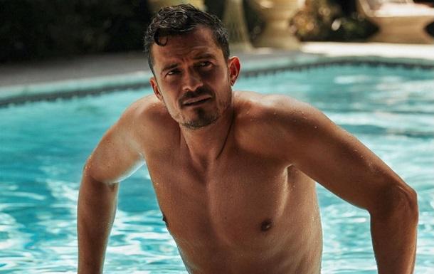 Орландо Блум снялся в сексуальной фотосессии для журнала