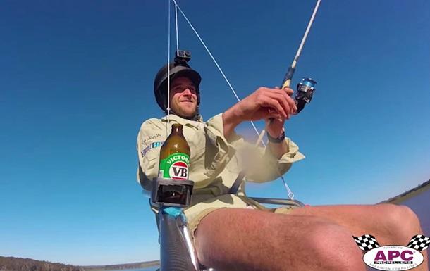 Инженер из Австралии построил дрон, чтобы слетать на рыбалку