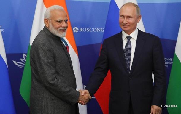 Росія продасть Індії зброю на $14,5 млрд