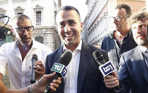 Новий уряд Італії: главою МЗС має стати Луїджі Ді Майо